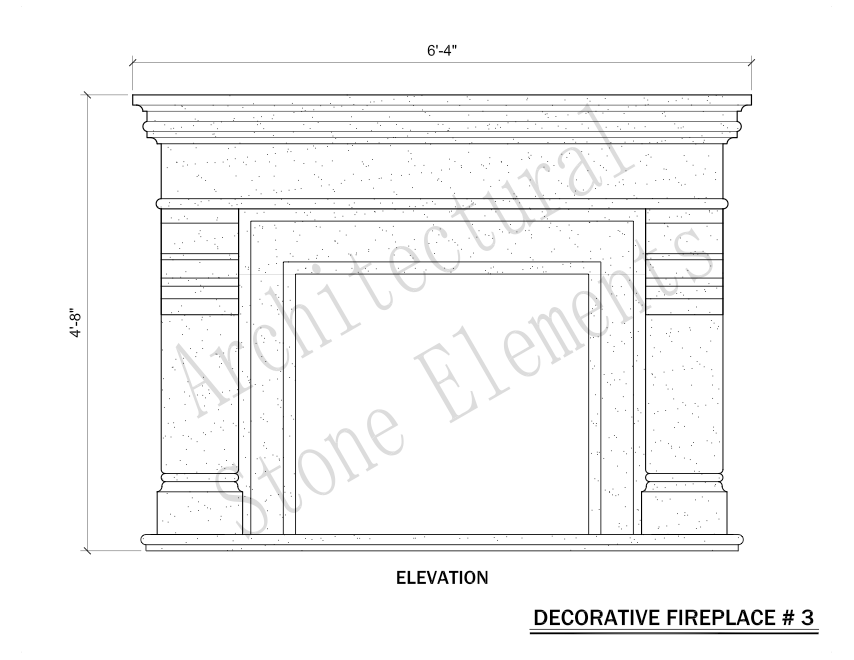 Architectural Stone Elements - Fireplaces 3