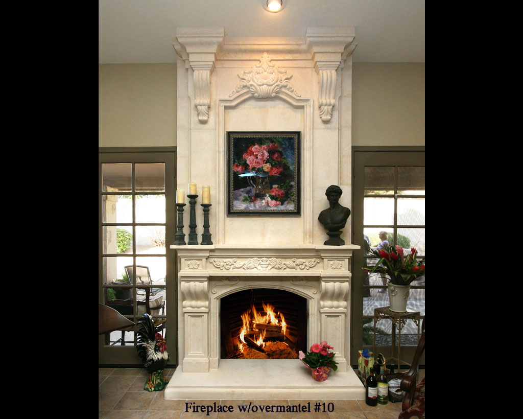Fireplace portfolios with Over-Mantels 10