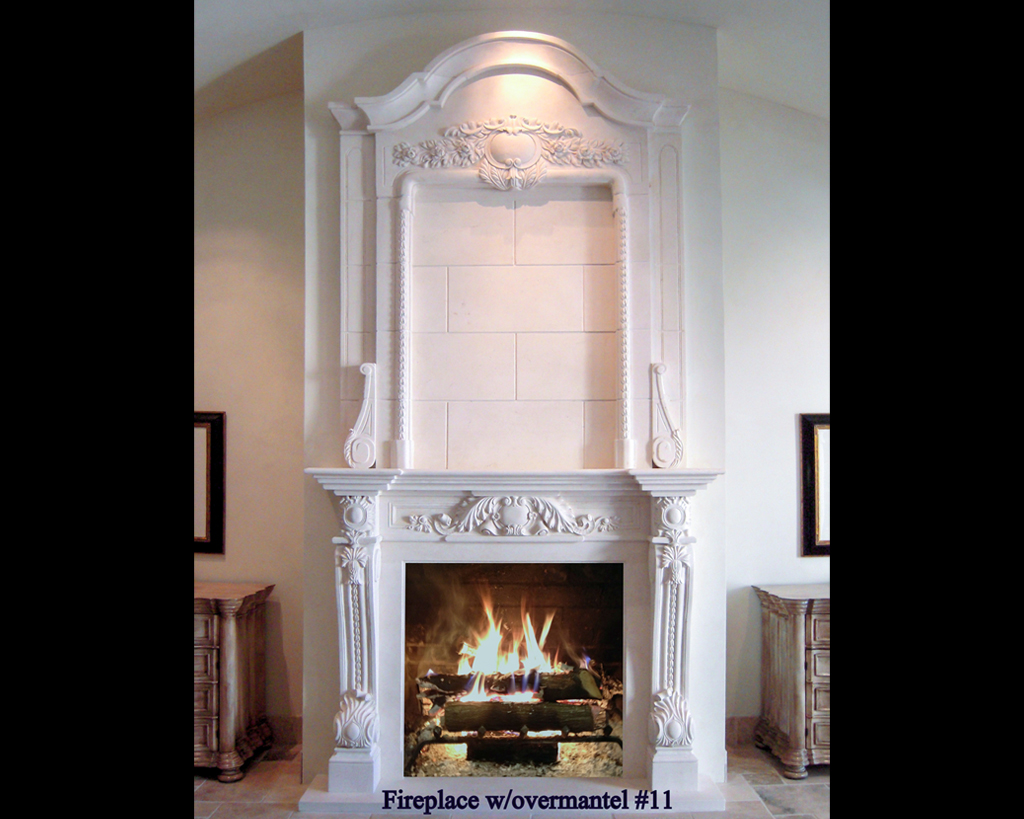 Fireplace portfolios with Over-Mantels 11