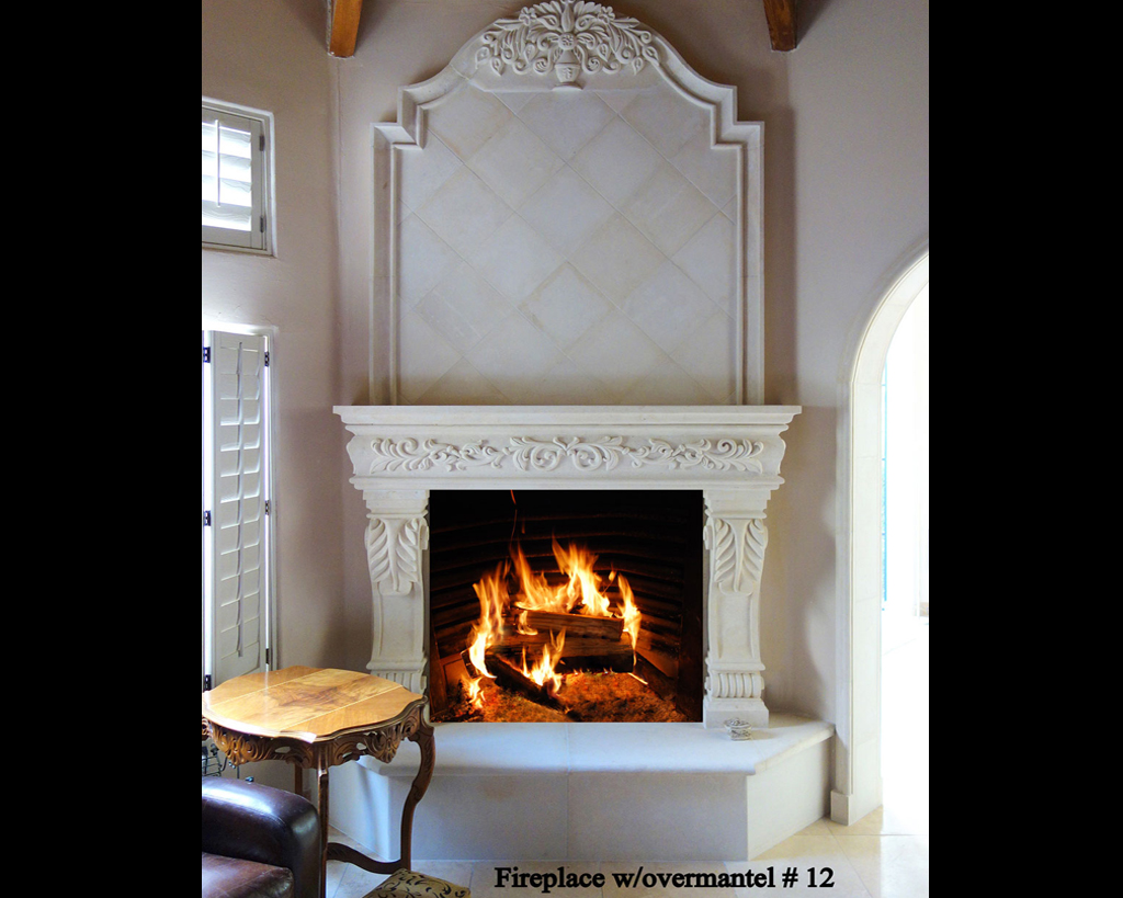 Fireplace portfolios with Over-Mantels 12