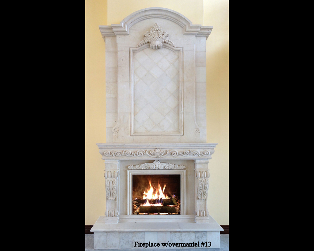 Fireplace portfolios with Over-Mantels 13
