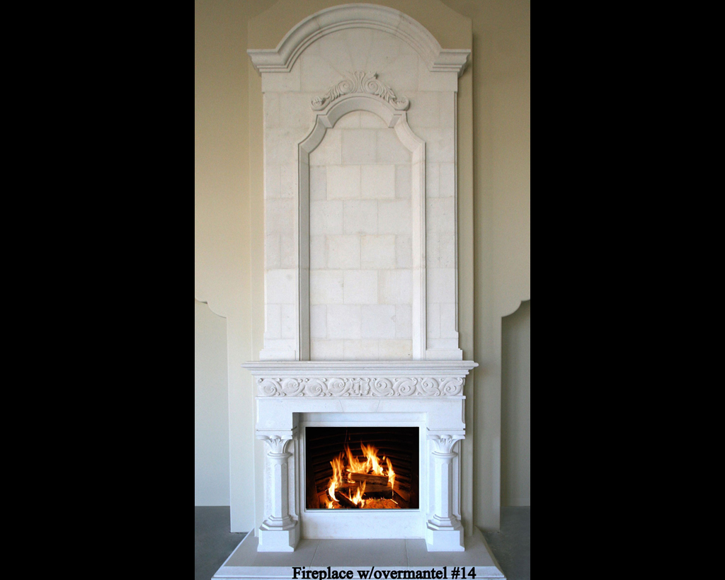 Fireplace portfolios with Over-Mantels 14