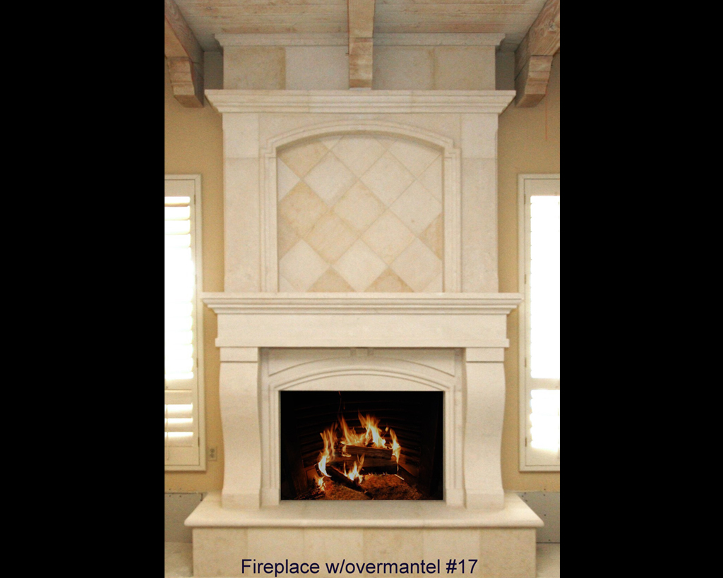 Fireplace portfolios with Over-Mantels 17
