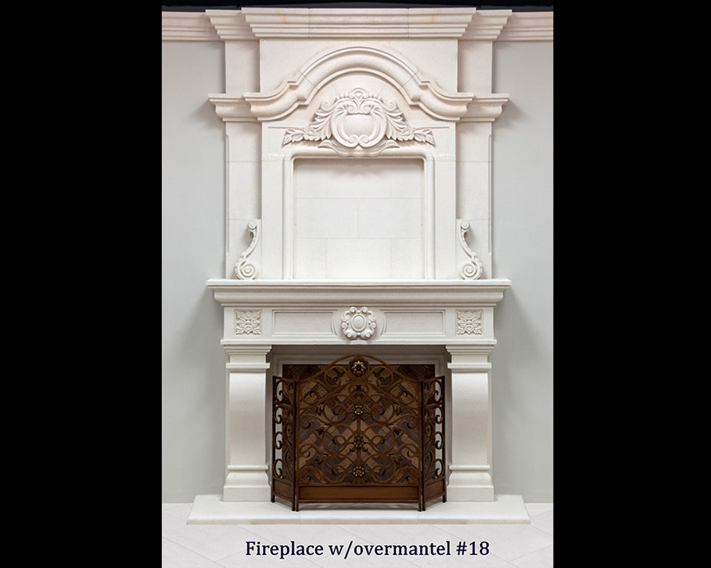 Fireplace portfolios with Over-Mantels 18