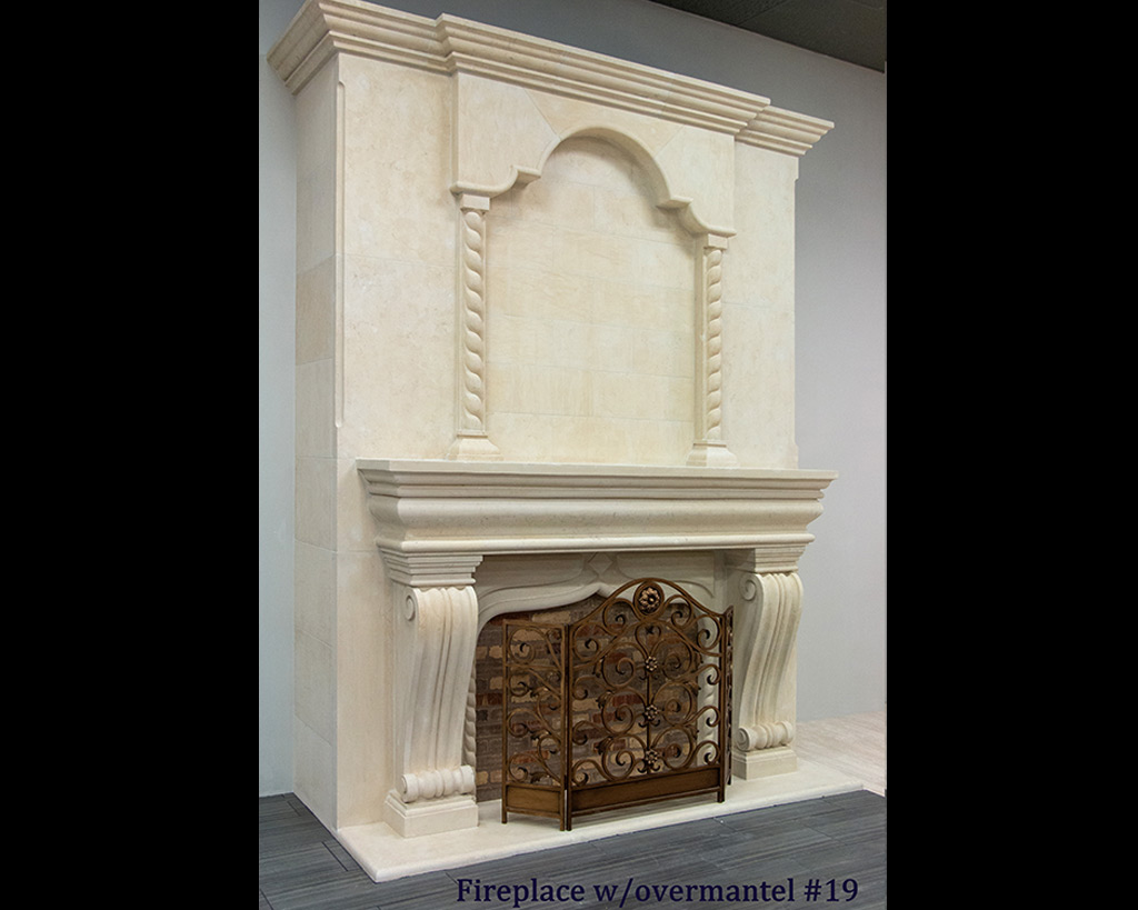 Fireplace portfolios with Over-Mantels 19