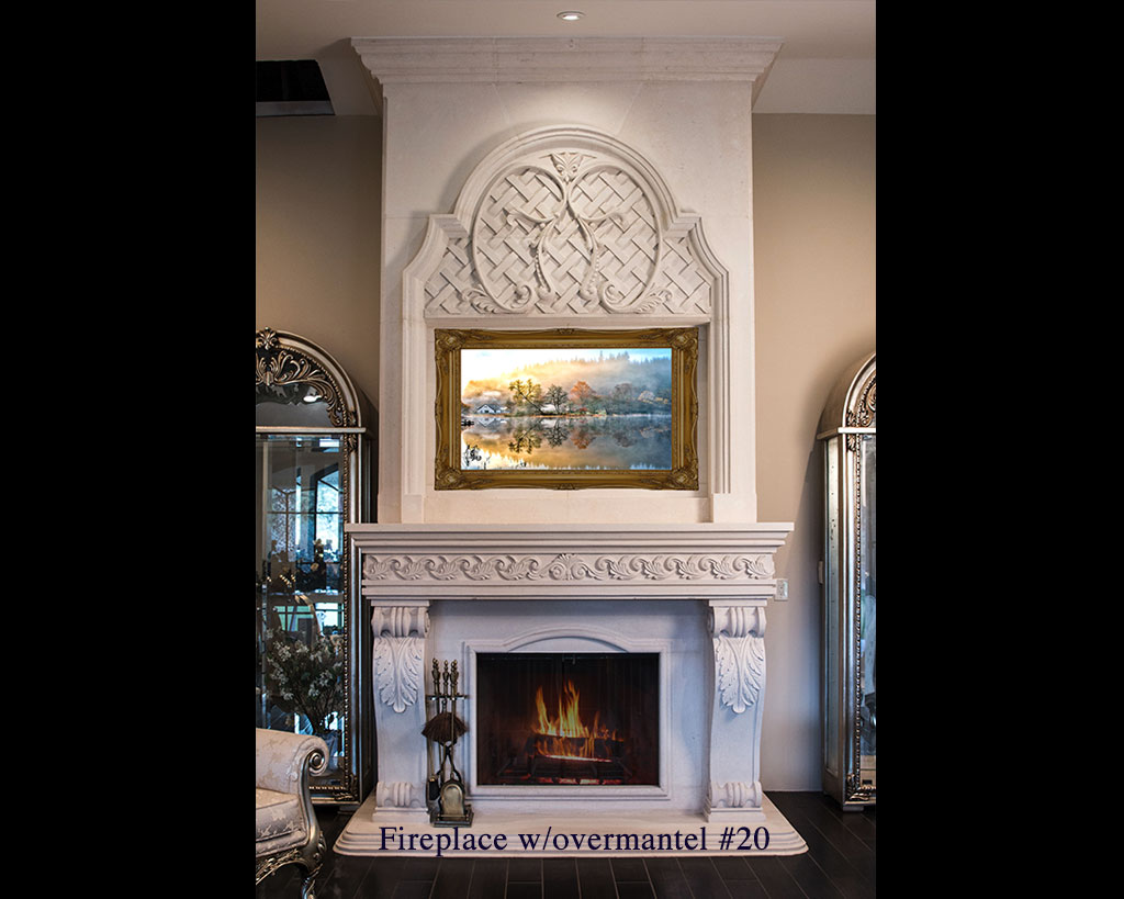 Fireplace portfolios with Over-Mantels 20
