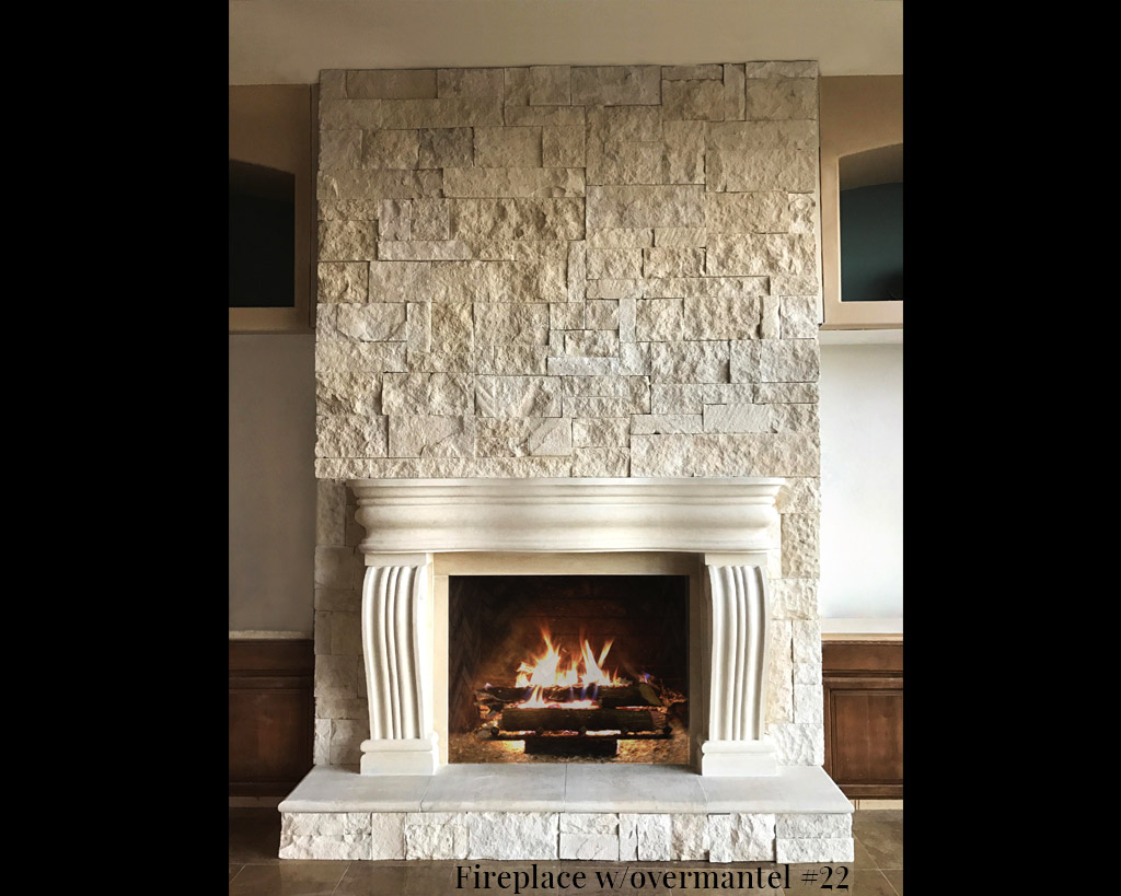 Fireplace portfolios with Over-Mantels 22