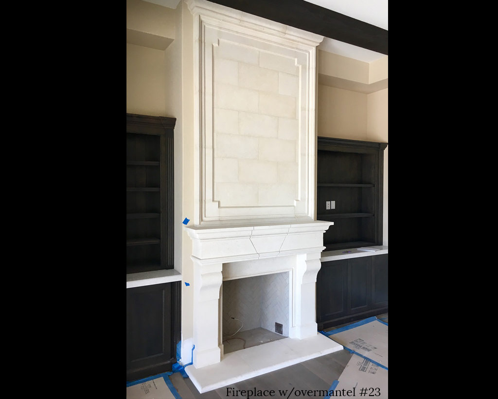 Fireplace portfolios with Over-Mantels 23