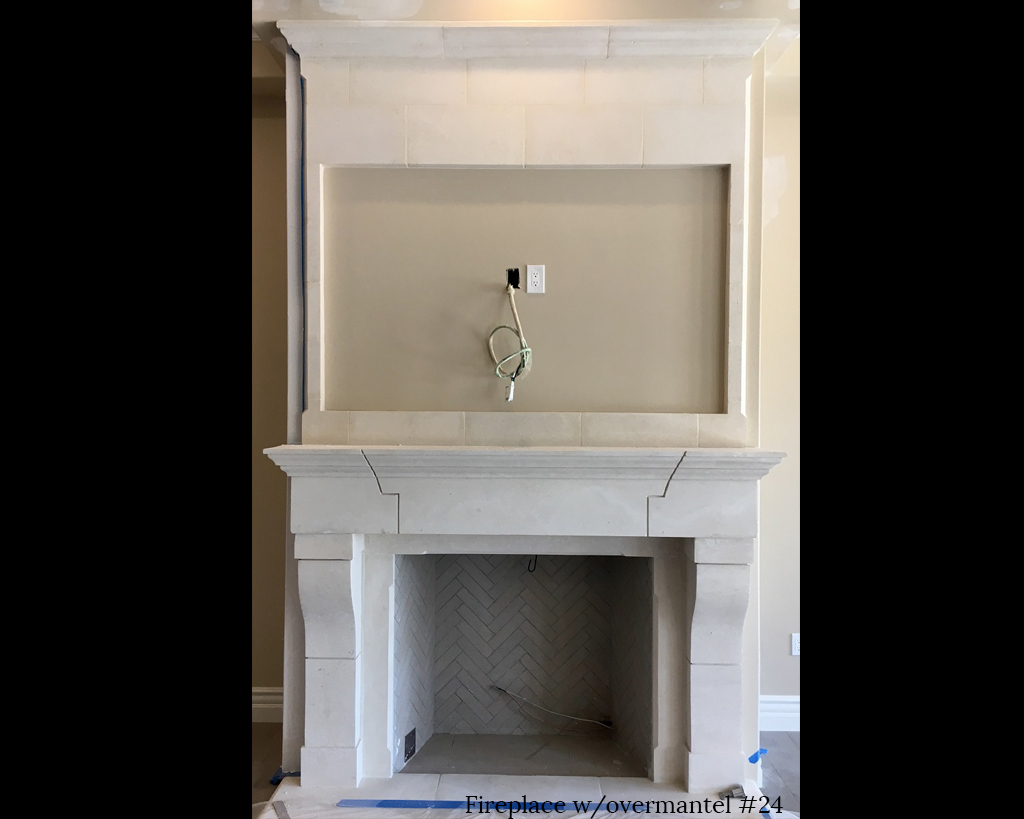 Fireplace portfolios with Over-Mantels 24