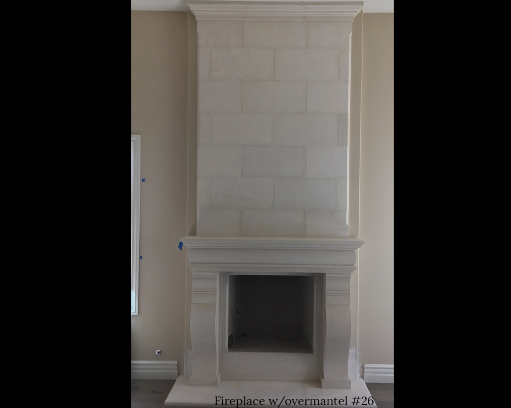 Fireplace portfolios with Over-Mantels 26