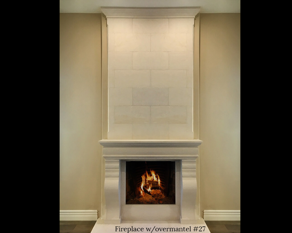 Fireplace portfolios with Over-Mantels 27