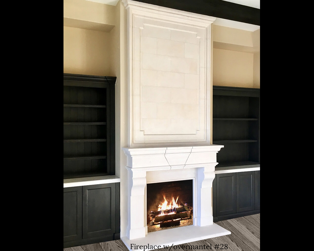 Fireplace portfolios with Over-Mantels 28