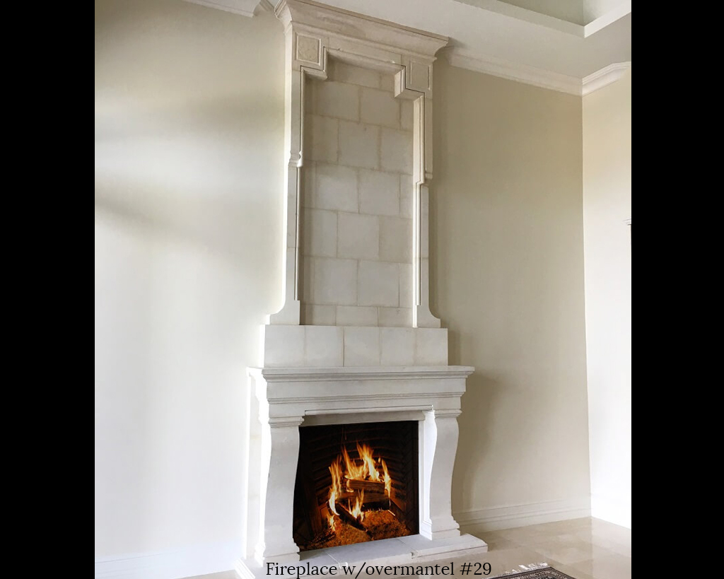 Fireplace portfolios with Over-Mantels 29