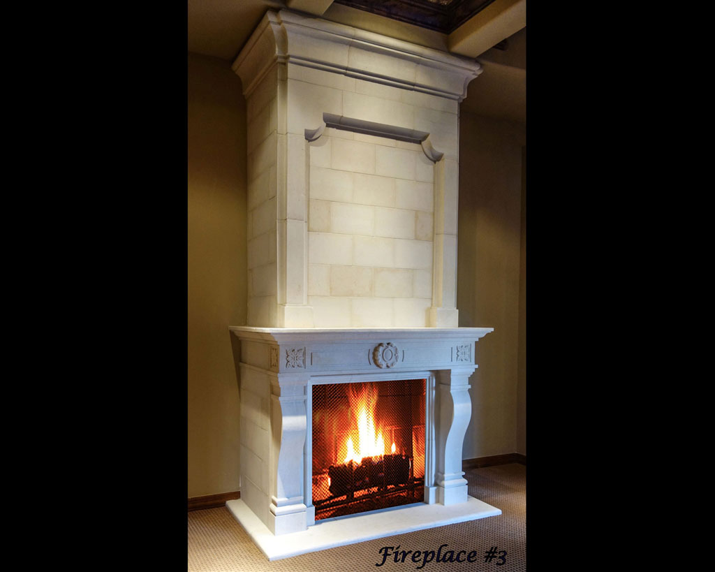 Fireplace portfolios with Over-Mantels 3