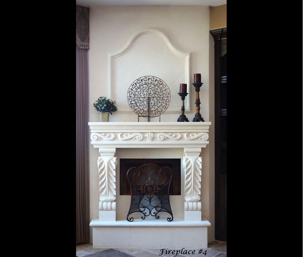 Fireplace portfolios with Over-Mantels 4