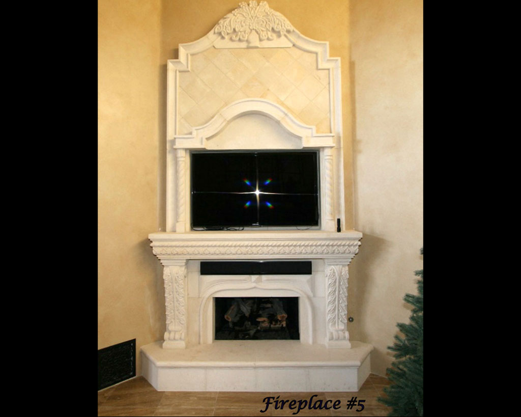 Fireplace portfolios with Over-Mantels 5