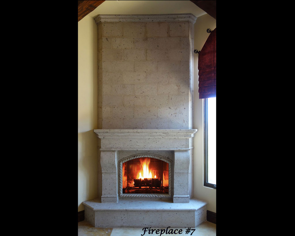 Fireplace portfolios with Over-Mantels 7